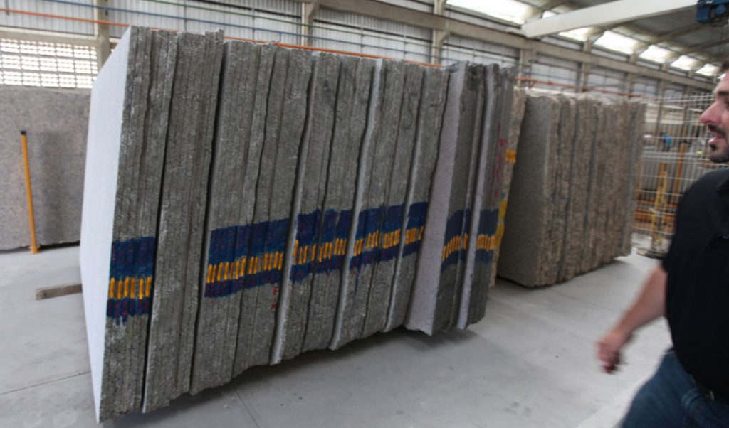 stacks of granite