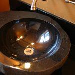 back bathroom sink