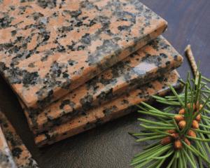 Beautiful Granite Remnant Coasters